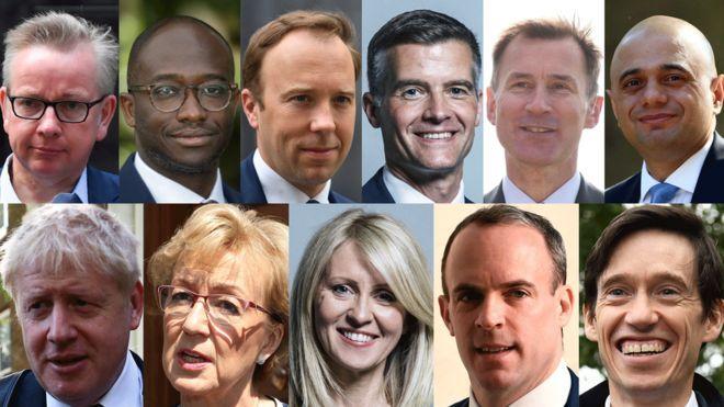 """英首相10名候选人全部产生!丑闻和""""子弹""""乱飞"""