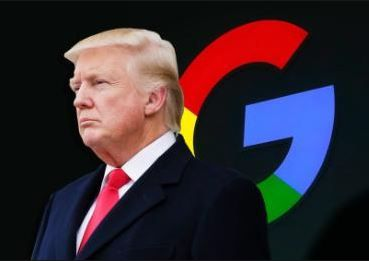 """谷歌被指与中国合作涉嫌""""叛国"""",特朗普也来插一脚"""
