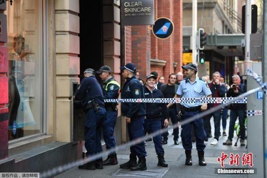 悉尼持刀伤人案致1死1伤 澳总理:事件令人不安