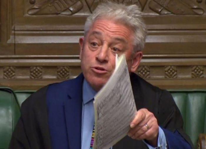 """英国议会下院议长誓言阻击""""无协议脱欧"""""""