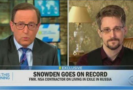 斯诺登现身美国电视节目:愿意返回美国 但有一个前提条件