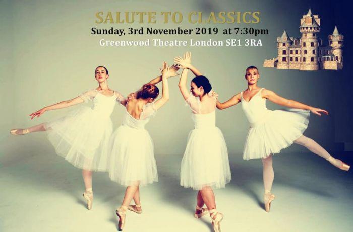 《致意经典》芭蕾专场即将在英国上演