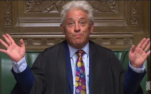 """英议长""""Order哥""""退休!话痨、脾气暴不好惹,却成政坛传奇"""