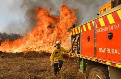 澳大利亚东部发生数十起丛林大火 主要高速公路中断