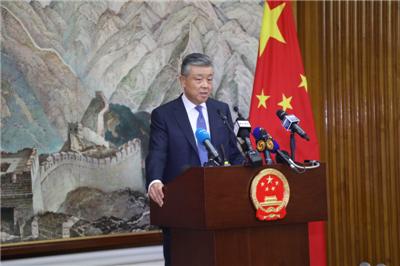 中国驻英国大使刘晓明就香港局势举行第三次记者会实录