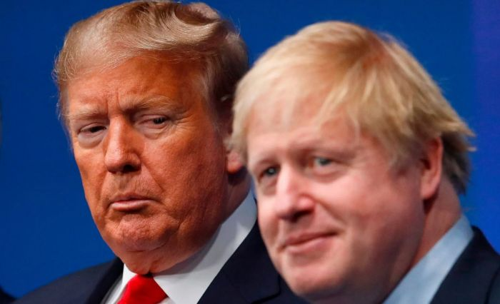 北约峰会吐槽特朗普算什么?会刚散,英法已对美国出手