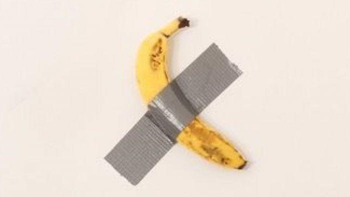 一根香蕉、一块胶布,这个作品竟要12万美元?!