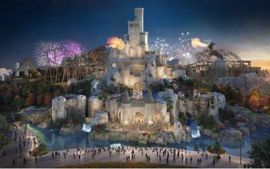 英国最大主题公园首张照片曝光!建成后将赶超巴黎迪士尼乐园