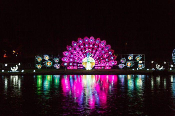 英伦Lightopia国际彩灯节惊艳伦敦