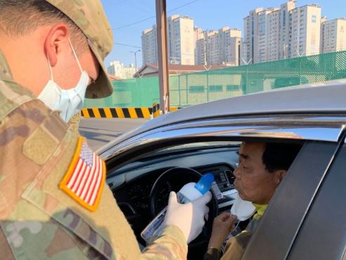 驻韩美军用嗅觉测试新冠病毒感染情况