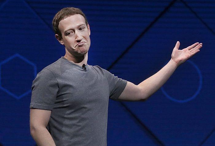 个人资产缩水72亿美元 扎克伯格跌出世界富豪榜前三名