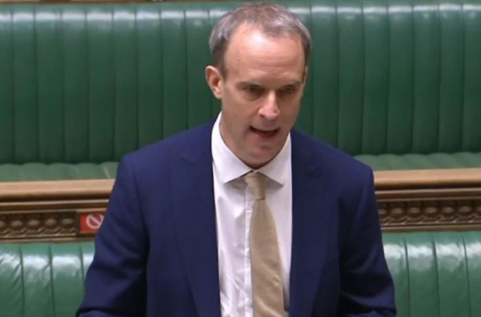 英国议员想往法案里塞涉疆条款,遭外交大臣明确反对