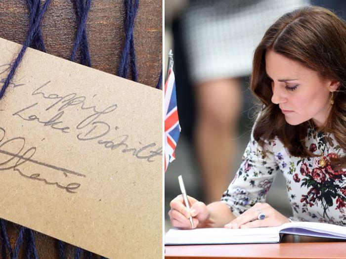 懒理梅根爆料,凯特王妃晒乔治小王子暖心卡片!英王室的秘密藏在字迹里?