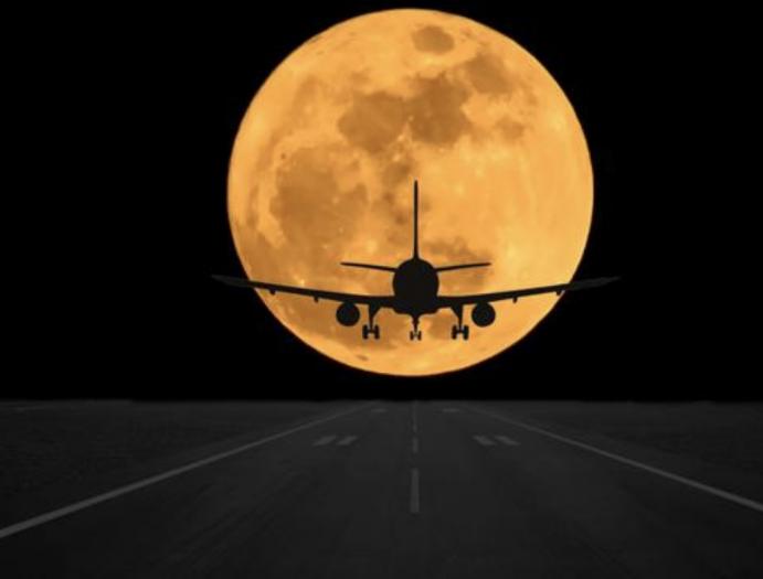 """澳航开通赏月航班 全程3小时""""近距离""""接触超级月亮"""