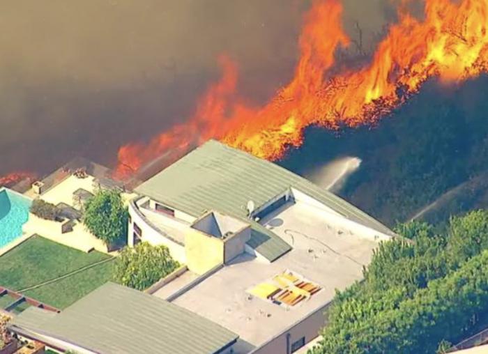 美警方:洛杉矶大火的纵火嫌犯被捕